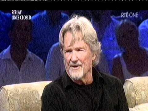 Kris Kristofferson interviewed by Miriam O Callaghan...07/08/2010.