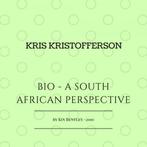 Kris Kristofferson South Africa