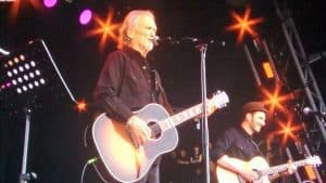 Kristofferson at Glasto