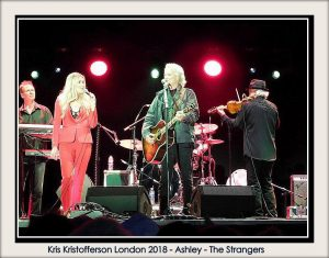 Kris Kristofferson London 2018 - Strangers - Ashley