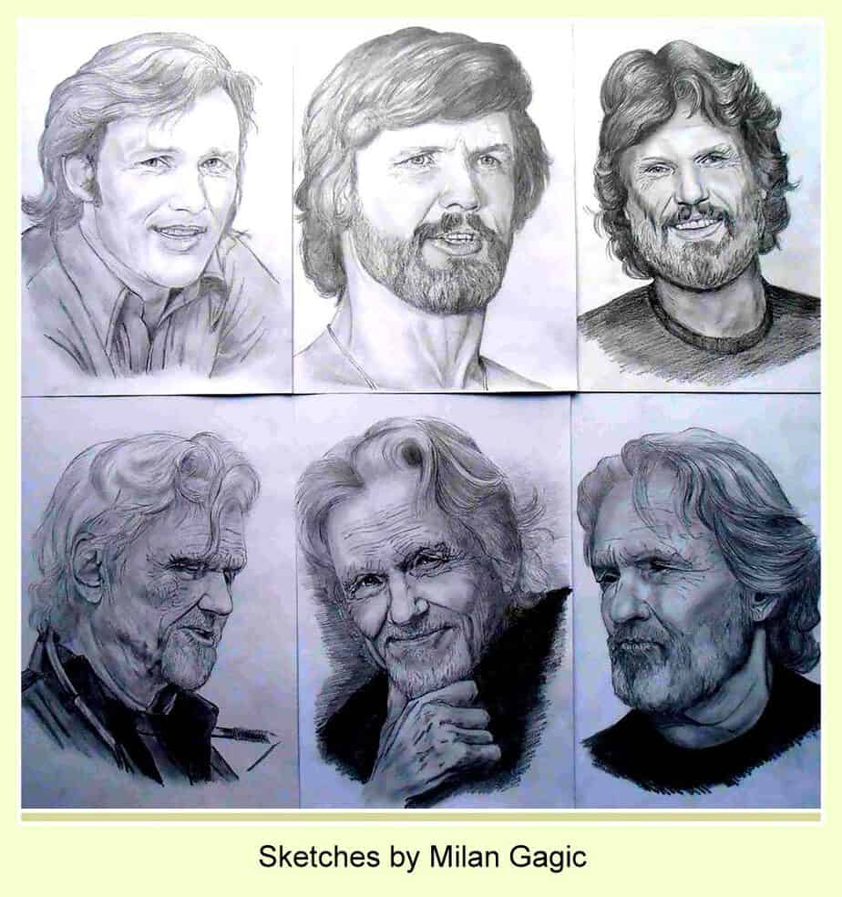 Kris Kristofferson sketches