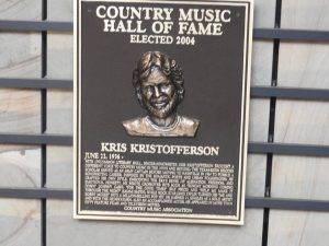 Country Music Hall of Fame Kristofferson