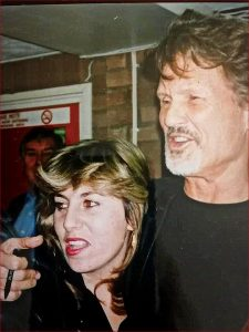 Kristofferson Fan Pic 90s
