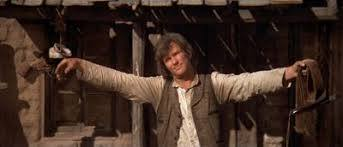 Kristofferson as Billy the Kid / crucifixion pose. Fair Use to illustrate the discussion.