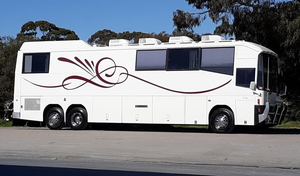 Kristofferson Tour Bus Australia 2019